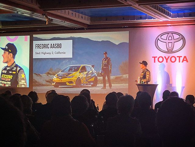 BIG honor presenting drifting to over 300 top Toyota Norway sales representatives in Prague this weekend. Going from a rookie to a championship contender has been a crazy journey and I'm proud to have been a part of the family the whole way!