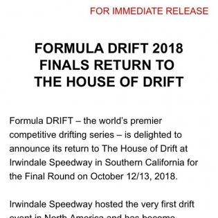 Breaking drift news! #formuladrift #formulad #longliveirwindale