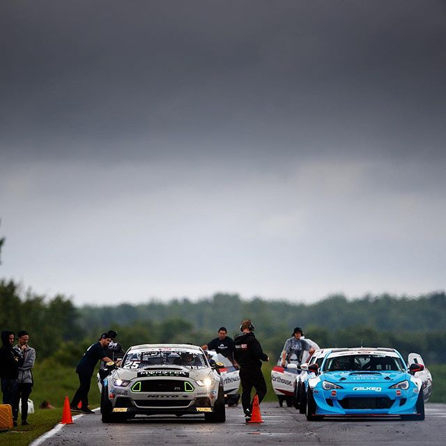 Calm before the storm moment at @formulad Montreal last year.