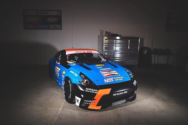 """Do you feel """"The Force""""? @chrisforsberg64 reveals a new livery on his @nosenergydrink Nissan!"""