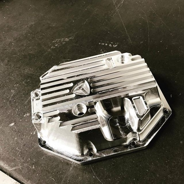 #fresh #kylemohanracing @built2apex new off the #CNC. #fd3s #se3p diff covers. @built2apex(@repost_via_instant)Billet diff cover almost ready! This is one beefy unit! Now available at www.built2apex.com #madeinusa #aluminum #cnc #billet #diff #mazda #fd #rx7 #impossiblerx7 #sump #built2apex