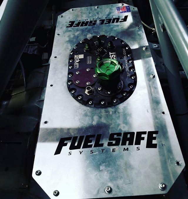 Fresh setup for 2018. @radiumengineering  @fuelsafe