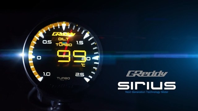 #SiriusMeter, the ultimate in standalone visual meters.  See #GReddy.com for more details and contact your favorite Authorized GReddy Dealer for purchasing... You can also stop by our GReddy USA showroom to experience the and