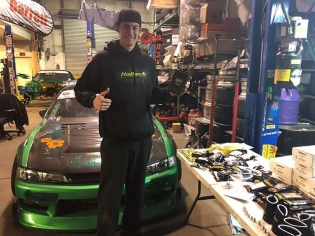 happy to shout out the newest addition to @forrestwang808's list of sponsors for @formulad 2018 Pro1 season, @haltechecu. Haltech specializes in engine management systems including products that are compatible with Nissan, Ford, Yahama, Subaru, Toyota, and many more. make sure to show some support and give em a follow! #getnutslab #forrestwang #forrestwang808 #s15 #nissan #schassis #vegasdrift #drift #drifting #vapetasia #clutchmasters #superdoof #lasvegascarwraps #stanceusa #jdmpsportnation #2fperformance #wisefab #bcl #bigcountrylabs #universalmachine #achilles #achillestire #achillestireusa #haltech #haltechecu