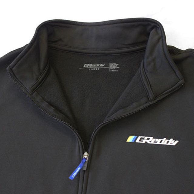 New apparel items just added to #ShopGReddy.com - including this GReddy Sport Fleece Track Jacket - sizes Sm through 2XL now live!