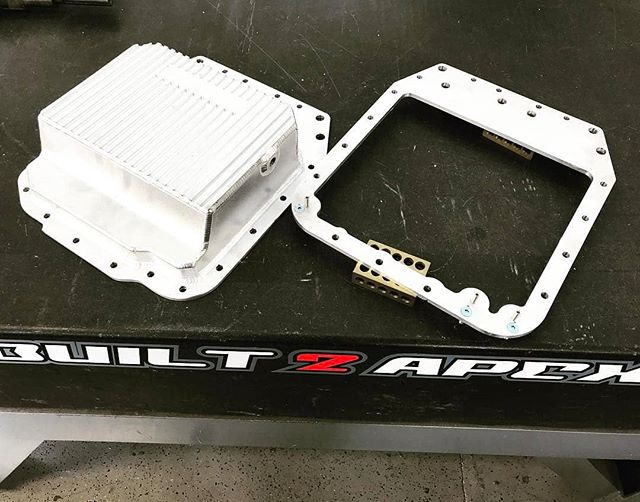New products every day! www.built2apex.com ****** Got an REW with an FC front cover? Still saving up for that B2A oil pan? Fear not! We have a new affordable solution for you. The FD-FC pan adaptor allows you to install your OEM FD oil pan onto an REW block using a second gen front cover, with minimal modification to your pan. Available soon for $80.00 + shipping.