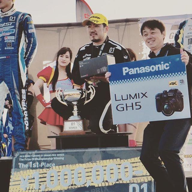 畑中さん優勝おめでとう!