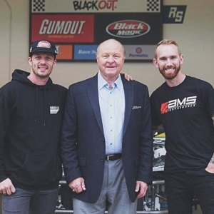 Big thanks to the legend #LarryMac for stopping by @race.service the other day. Always awesome hearing stories from his NASCAR crew chief days. @gumout #Gumout
