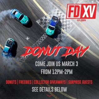 "FD Fans: Join Us for ""Donut Day"". Event is FREE 