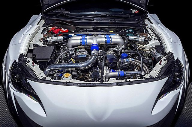 GReddy Performance Products FRS ITBs and GTX-R Tuner Turbo now live on @superstreet.com.  @jade350z