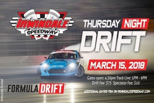 House of Drift welcomes you to Thursday Night Drift! March 15th, 2018 | Irwindale Event Center #FormulaDRIFT #FormulaD #FDXV