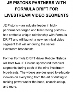 I am so excited that @robbienishida is joining the @formulad US team this season after his retirement from competition! #hellyeah