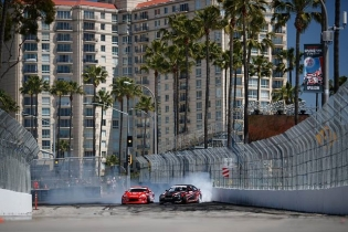 It all starts at Turn 1 Will we see @NittoTire's @AlexHeilbrunn go up against  @CameronMooreDrift? Find out at RD1: Streets of Long Beach on Apr 6-7th. Tickets on Sale Now: bit.ly/FDLB2018 (link in bio) #FormulaDrift #FormulaD #FDXV #FDLB