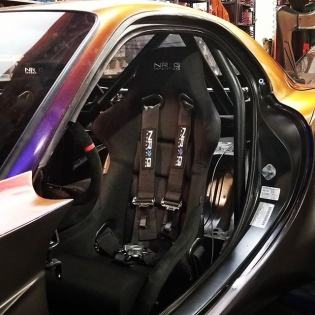 #kylemohanracing FD3S interior. @getnrg @drivenrg @built2apex @americanethanol  @growthenergy @top1oil @exedyusa @driftillustrated #mazdausa #turbonetics #nexentireusa #ignitefuel #mishimoto #cxracing #wpctreatment #wppro #xxrwheels #swiftsprings #ngksparkplugs #haltech #nrg #fuelsafe #evolvedinjection  #wraplegends #billetinc #autometer #radium #motherspolish #kylemohanracing #hgtprecision #Billetinc @drinkdoc #docrenegades #doc #ef1