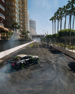 These streets are calling, will @nittotire's @vaughngittinjr be able to answer on April 6-7th? Get your tickets now to the season opener at RD1: Streets of Long Beach: bit.ly/FDLB2018 (link in bio) #FormulaDrift #FormulaD #FDXV #FDLB