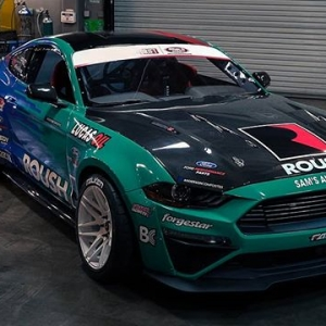 This Just In! @JustinPawlak13 of @FalkenTire | @FordPerformance unveils new livery for our 15th Year Formula Drift Season! See JTP Debut it at The Streets of Long Beach Apr 6-7 Tickets Here: bit.ly/FDLB2018 (link in bio) #FormulaDRIFT #FormulaD #FDXV #FDLB