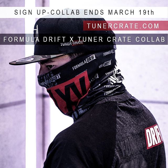 We are excited to announce the Official @formulad x @tunercrate Collaboration.  Registration Ends March 19, 2018.  Register Here for Your Formula Drift Gear: tunercrate.com/pages/premium