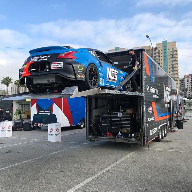 @chrisforsberg64 here! Unloading for Media Day! Ready to give some rides and shred the Streets of Long Beach!