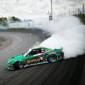 @forrestwang808 making clouds in one of the very few left hand drive Nissan S15 Silvias. #formuladrift #fdorl #fdxv 📸@larry_chen_foto