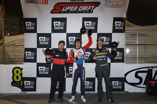 @MotegiRacing Super Drift Day 1 Results.  1st - @piotrwiecek  2nd - @forrestwang808  3rd - @trenton_beechum