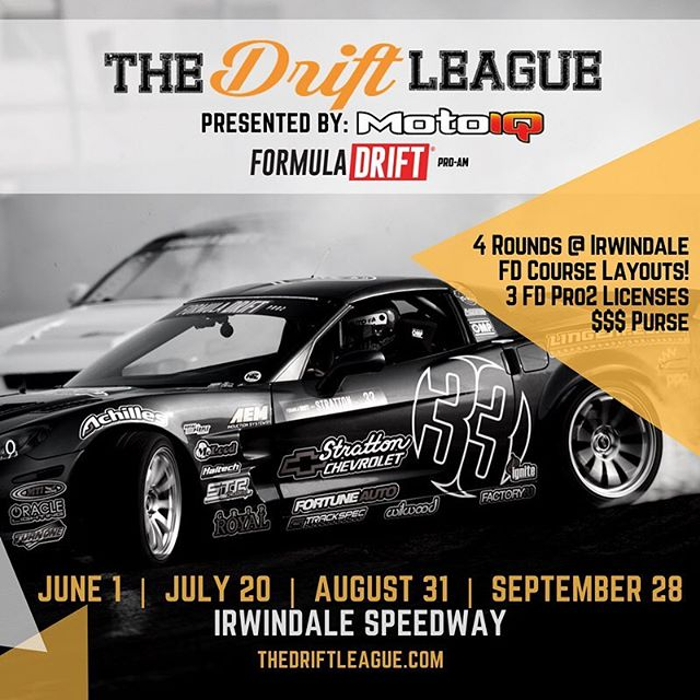 @MotoIQ is proud to announce a new Formula DRIFT sanctioned amateur drift series called @thedriftleague.