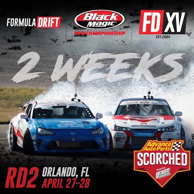 Can you feel the heat!? We're only 2 weeks away from RD2: Scorched in Orlando, FL on April 27-28.  Get your tickets now! Link in our bio.