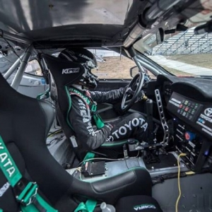Corner office with a view. @falkentire's @kengushi is ready to put in work at RD2: Scorched in Orlando, FL on April 27-28. Get your tickets in the link in our bio. #FormulaDRIFT #FormulaD #FDXV #FDORL