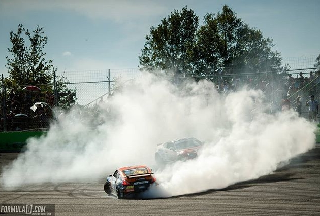 Enter the Ring of Fire & Get Scorched. RD2 of our 15th Year Anniversary - Apr 27 - 28 at Orlando Speedworld Oval Track! Tickets: (Link in bio) #FormulaDRIFT #FormulaDRIFT #FDXV #FDORL