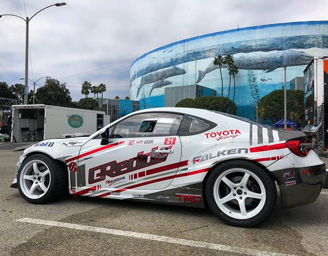 It's that time of the year again.  Today @teamgreddyracing is here on the Streets of Long Beach for Media Day.  Follow @teamgreddyracing and @boost_brigade for more from today and this weekends 2018 Season opener... @kengushi @toyotaracing @falkentire @mobil1 @keystoneautomotiveoperations @boost_brigade