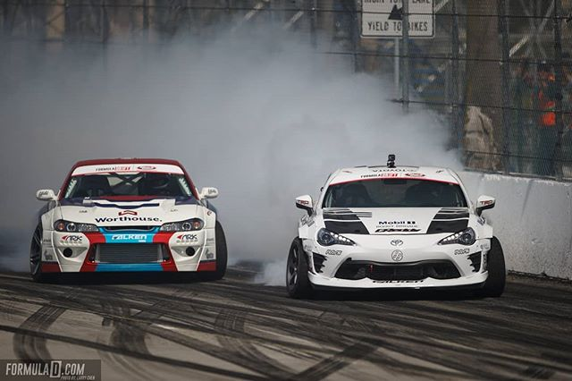 New teammates, same rivalry. @FalkenTire's @kengushi and @piotrwiecek are looking forward to Round 2: Scorched  The battles continue in Orlando, FL - April 27-28. Tickets link in our bio.
