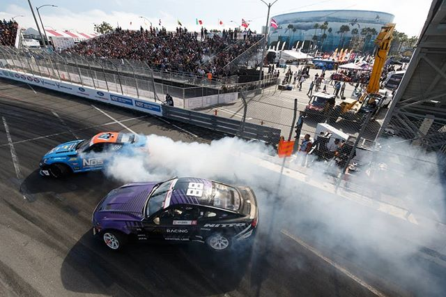 Shoutout to all of the fans in attendance and those that tuned into the livestream! @nexentireusa's @chrisforsberg64 vs. @nittotire's @chelseadenofa  We'll see you in Orlando, April 27-28! Tickets link in our bio