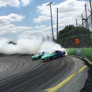 Some more Thursday practice laps @formulad Orlando. #drifting #formulad #formuladrift #fdorl