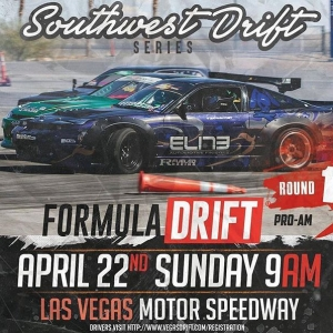 Southwest Drift Series / Vegasdrift Grassroots April 22 @ 9:00 am - 6:30 pm #vegasdrift @drift #drifting #formuladrift #formulad #formuladriftproam