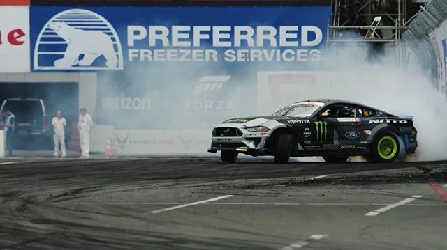 The fun-haver having fun at Round 1 - The Streets of Long Beach | @vaughngittinjr of @nittotire  See you next round in Orlando!