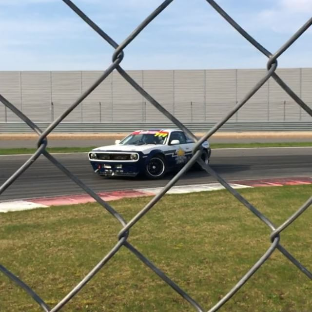 @dobrovolskiydmitry owns @rds_gp and he takes time to drive during the open practice session in his SR-powered Boss S14. So cool!