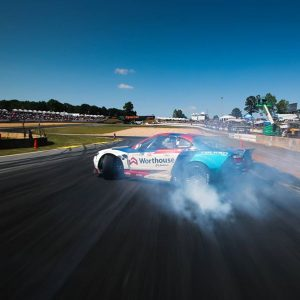 @piotrwiecek entering turn one at triple digit speeds during top 32 practice. #fdatl #fdxv #formuladrift 📸@larry_chen_foto