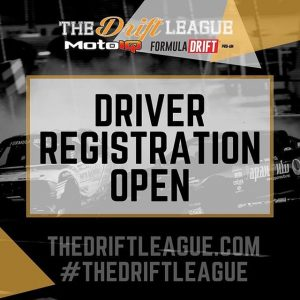 @thedriftleague x @motoiq ・・・ DRIVERS! Registration is officially open. We are capping it at 40 drivers so get in while you can. Visit TheDriftLeague.com for registration info. #TheDriftLeague #MotoIQ #FormulaDRIFT #FormulaD #FormulaDRIFTProAm