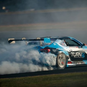 Coming in hot from #FDATL! @daiyoshihara | @falkentire Celebrate the 100th FD Round at @advanceautoparts RD4: The Gauntlet presented by @blackmagicshine at Wall, NJ on June 1-2. Tickets link in our bio. #FormulaDRIFT #FormulaD #FDXV #FDNJ #FD100