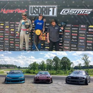 Congrats to (14 y/o!!!) @branden_sorensen in 1st, @dmiles_gmp in 2nd and @derek_madison in 3rd at @hyperfest at @virnow!! #drifting #hyperfest #winnerwinner