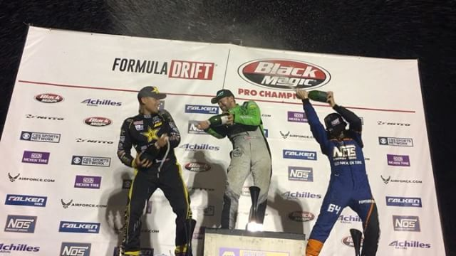 Congratulations to @hgkracingteam in 1st place, @fredricaasbo in 2nd and @chrisforsberg64 in 3rd at @formulad Atlanta!