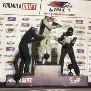 Congratulations to @olajaeger in 1st, @dylanhughes129 in 2nd and @travisreeder in 3rd at @formulad Pro2 Atlanta! #fdatl #formulad #drifting