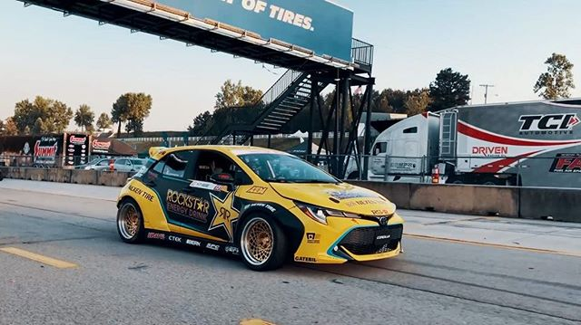 Cruising with @fredricaasbo | @nexentireusa to the Top 16 Ceremonies at NAPA Auto Parts RD3 presented by @officialrainx. Thank You ATL!  Video: @te.oooo