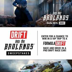 Don't forget to tune into another episode of @intothebadlandsamc. AMC and FD are teaming up to provide you with VIP experience and ride-along to Irwindale. Enter now!
