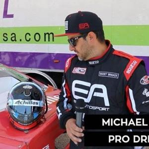 Head Game: Strong @michaelessa if Team @achillestire previews his new helmet. Watch LIVE today at 4:15 PM EST (link in bio) #FormulaDRIFT #FormulaD #FDXV #FDATL