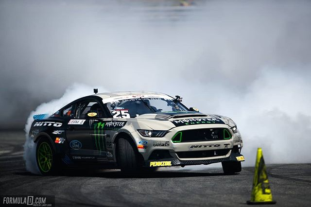 No cones were harmed in the making of this photo @vaughngittinjr | @nittotire | @mustangrtr  We'll see you at @advanceautoparts RD4: The Gauntlet presented by @blackmagicshine in Wall, NJ on June 1-2. Tickets link in our bio.