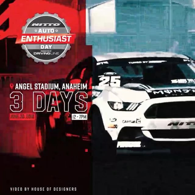 More Days Until The Th Annual NittoTire Auto Enthusiast Day - Angel stadium car show