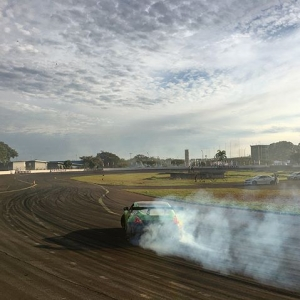 @superdriftbrasiloficial at the Autódromo Ayrton Senna in Londrina, Brasil. #superdriftbrasil #drifting