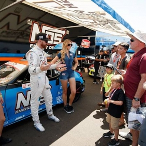 Caption This! What do you think @chrisforsberg64 of @NosEnergyDrink | @nexentireusa is telling these kids? Get more Drift Knowledge from him next at @autozone RD5: Throwdown presented by @OfficialRainX in Monroe, WA on July 20-21. Tickets: (link in bio) #FormulaDRIFT #FormulaD #FDXV #FDSEA