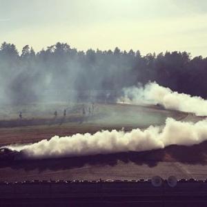 Hazy daze. #gatebildriftseries #gatebildrift #drifting #smokedout