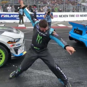 Ready to Have Fun with The Fun-Haver. Catch @vaughngittinjr at the 6th annual Auto Enthusiast Day presented by @nittotire ! Watch him & other FD Drivers put on Live Drifting Demos on June 30 | Angels Stadium of Anaheim | 12-7pm. Best part, it's FREE! Register: www.autoenthusiastday.com #FormulaDRIFT #FormulaD #FDXV #autoenthusiastday